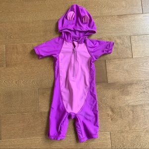 3/$10 GEORGE Baby girl one piece swimsuit 6-12m